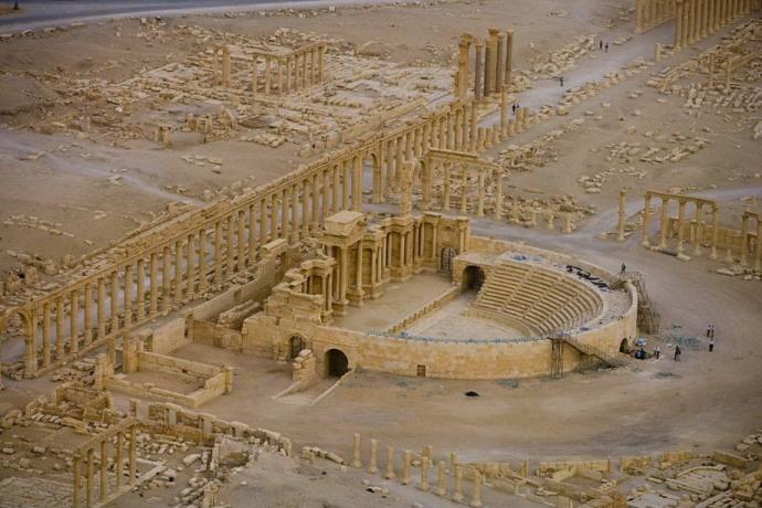 Римский театр в Пальмире. Сирия 26319  LIBERTY INFINITY