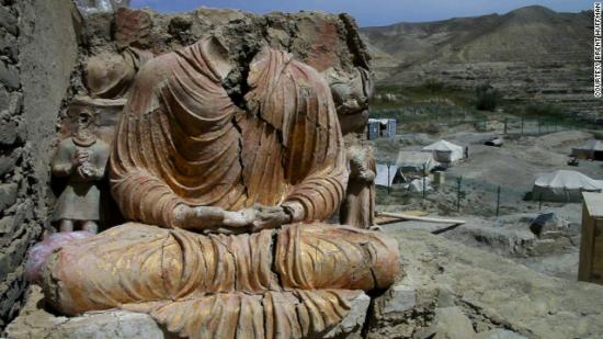 Mes Aynak, a 2,600-year-old Buddhist site, could be destroyed in December to create a massive copper mine.