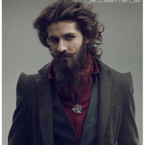 beard man fasion