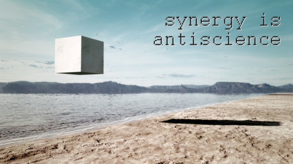 synergy is antiscience