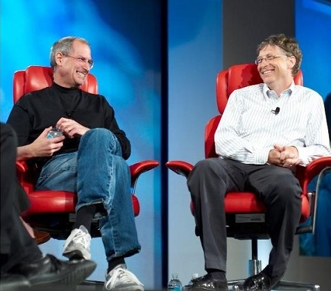 Bill Gates and Steve Jobs together - lsdex.ru