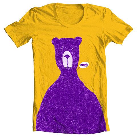 bear t shirt design that person is close to Nibbana. Dhammapada  LIBERTY INFINITY