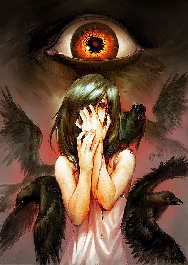 horror manga horror girl Those who subdue this mind are liberated from the bonds of Mara. Dhammapada.  LIBERTY INFINITY