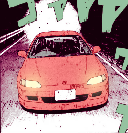 manga red car Manga # 13  LIBERTY INFINITY