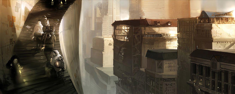 postapocalypse city # 26  LIBERTY INFINITY