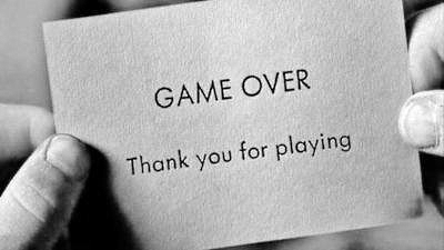 game over thank you for playing 23938  LIBERTY INFINITY