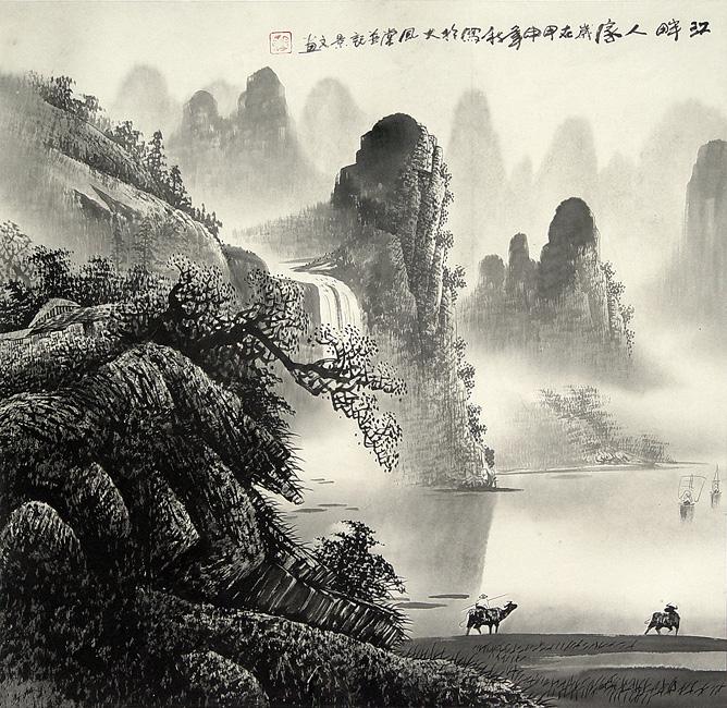 P080108L Asian landscapes  LIBERTY INFINITY