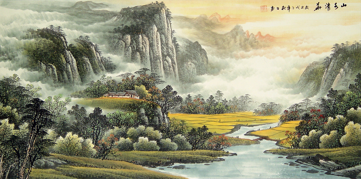 P09037L Asian landscapes  LIBERTY INFINITY